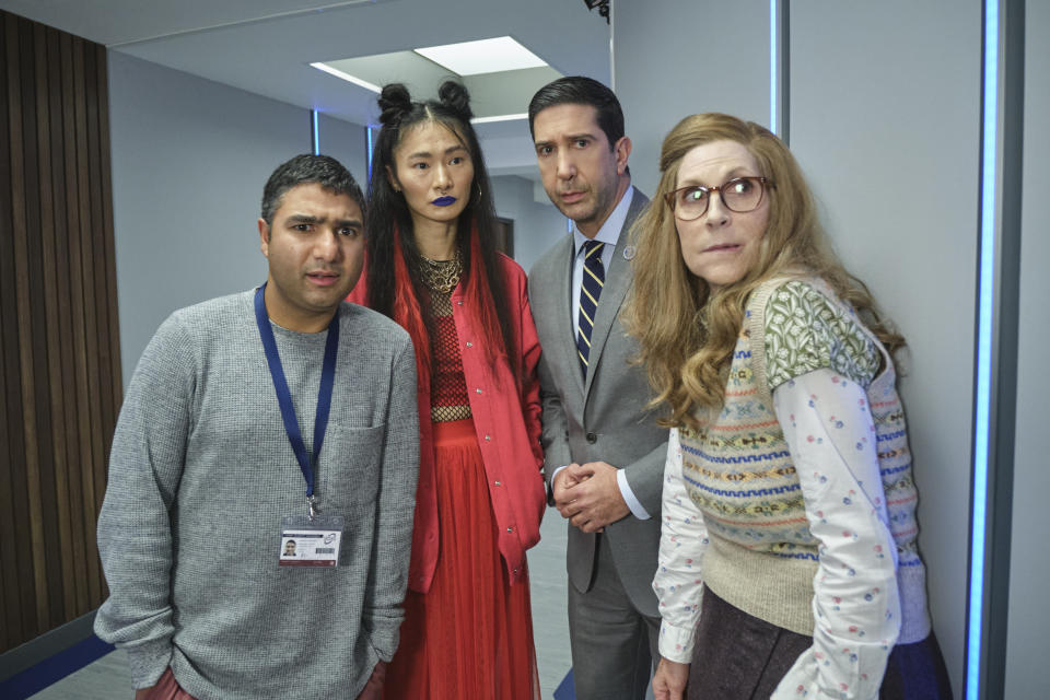 Intelligence episode five airs on Sky One. (Sky/Ollie Upton)