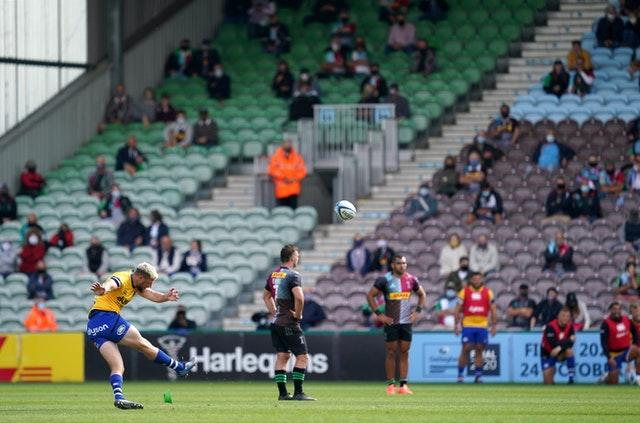 Harlequins recently staged a successful test event