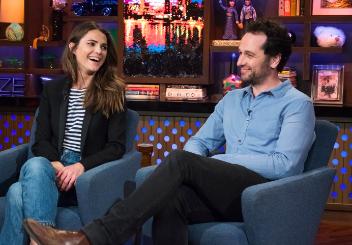 Keri Russell and Matthew Rhys talk about the beginning of their romance on