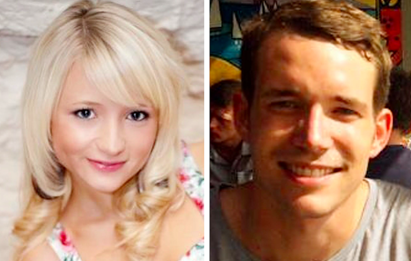 Hannah Witheridge and David Miller were killed on the resort island of Koh Tao in 2014 (Pictures: PA)