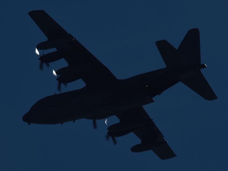 C-130 Hercules was carrying 17 crew members and 21 passengers, including three civilians: Ian Hitchcock/Getty Images