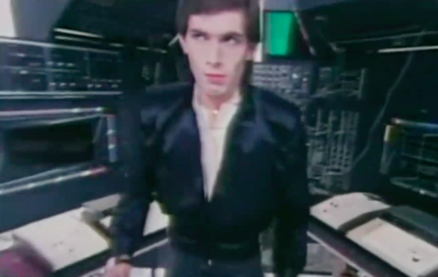 "Hans Zimmer in the video for ""Video Killed the Radio Star,"" by the Buggles. (Photo: Epic Records)"