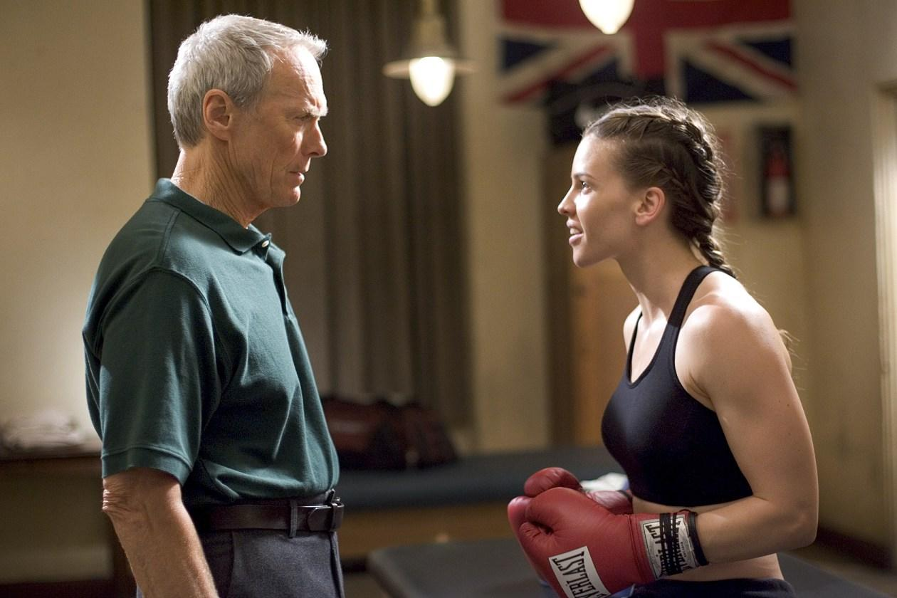 "Maggie Fitzgerald (Hilary Swank)-  ""Million Dollar Baby"": Boxing coach Frankie Dunn (Clint Eastwood) says he doesn't train girls, but reluctantly agrees to show Maggie Fitzgerald the ropes after she impresses him with her gumption. Much to old Dunn's surprise, Fitzgerald steadily works her way up the welterweight ranks and begins to make a name for herself. Things don't go as planned when she gets a shot at the title, but Maggie got exactly what she wanted in the process. Swank took home the Best Actress Oscar for her pugilistic turn in the film."