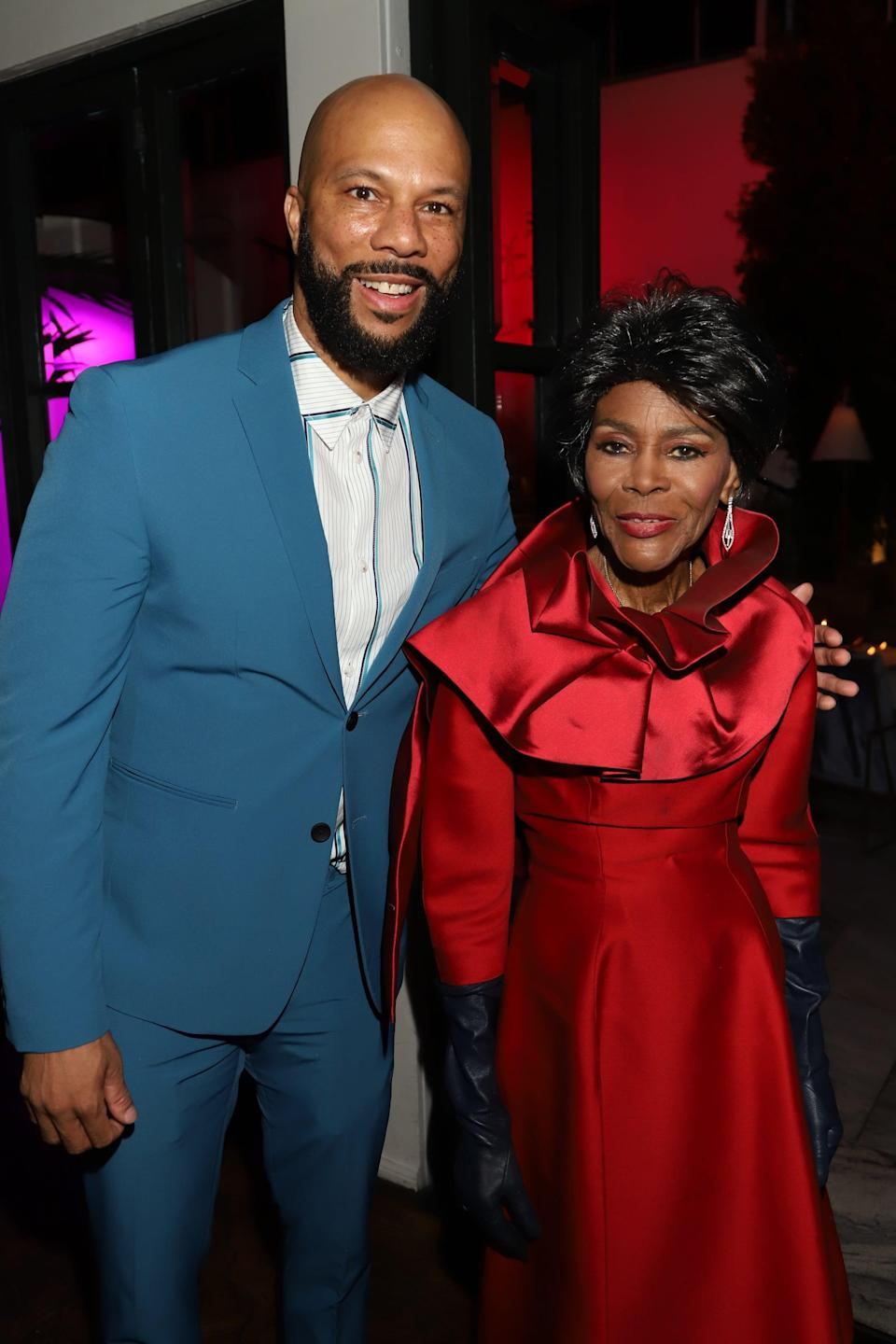 """<p>""""I'm so sad to hear the news that trailblazing artist and cultural icon Cicely Tyson has passed away today. While <a href=""""https://www.instagram.com/p/CKm_xoXpPjY/"""" class=""""link rapid-noclick-resp"""" rel=""""nofollow noopener"""" target=""""_blank"""" data-ylk=""""slk:she may be gone"""">she may be gone</a>, her work and life will continue to inspire millions for years to come. God Bless. RP via @WeLeadWithLove.""""</p>"""