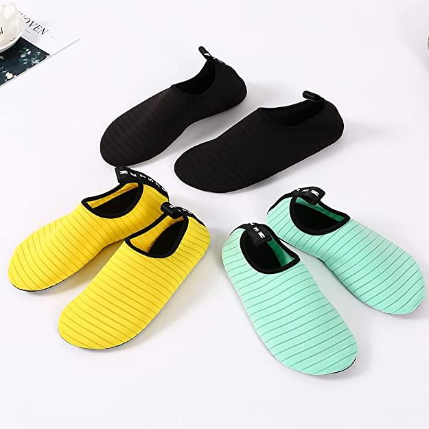 Bopika Water Socks come in an assortment of summer-ready colours. Image via Amazon.