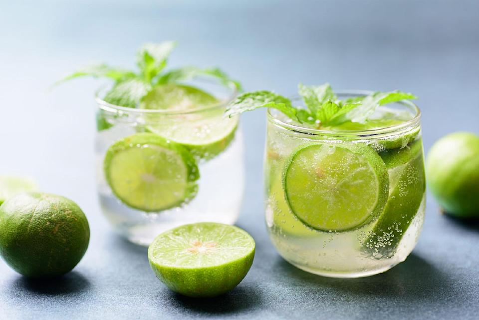 <p>Looking for something a little fresher in your tropical cocktail? Meet the mojito, with its mint and lime flavor profile. </p>