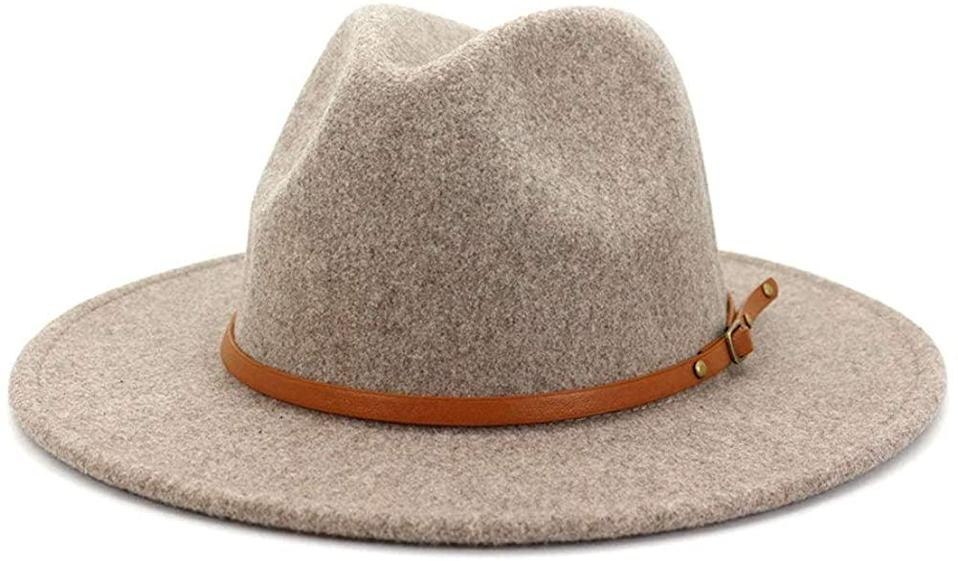 <p>Top off your look with this <span>Lisianthus Belt Buckle Wool Wide-Brim Hat</span> ($23).</p>