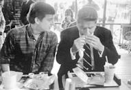 <p>Even President Reagan enjoyed a Big Mac or two. Here he is eating at a McDonald's after a campaign stop at the University of Alabama in Tuscaloosa.</p>