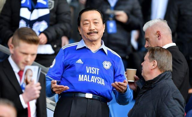 Cardiff owner Vincent Tan reversed a decision to make the team play in red after fan protests