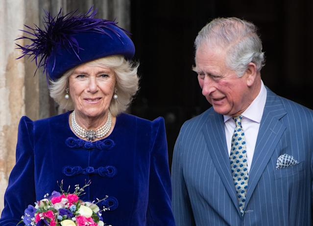 Charles and Camilla will be at the service with the Queen. (Getty Images)