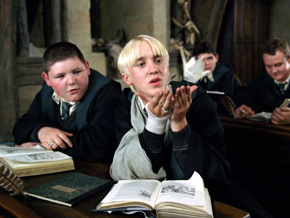 Tom Felton as Draco Malfoy (Warner Bros)