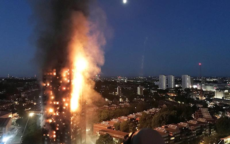72 people were killed when Grenfell Tower was engulfed by flames in 2017 - Getty Images Europe