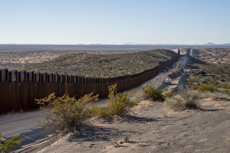 This month, Democratic and Republican congressional leaders alike were given assurances that President Donald Trump's demands for American taxpayer money to build his border wall would be postponed until the next congressional session. (PAUL RATJE via Getty Images)