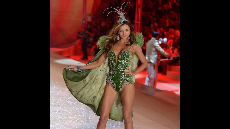 "<p>Miranda Kerr walked in six Victoria's Secret Fashion Shows between 2006 and 2012, and the Australian model wore the Fantasy Bra in 2011. Outside of her modeling for the lingerie brand, Kerr has landed lucrative contracts with Wonderbra and Escada fragrances. She also has her own line of skincare products, Kora Organics. Kerr <a href=""https://www.gobankingrates.com/net-worth/evan-spiegel-net-worth/?utm_campaign=489384&utm_source=yahoo.com&utm_content=26"" rel=""nofollow noopener"" target=""_blank"" data-ylk=""slk:married Snapchat CEO Evan Spiegel"" class=""link rapid-noclick-resp"">married Snapchat CEO Evan Spiegel</a> — whose net worth is $4 billion — in May 2017.</p>"