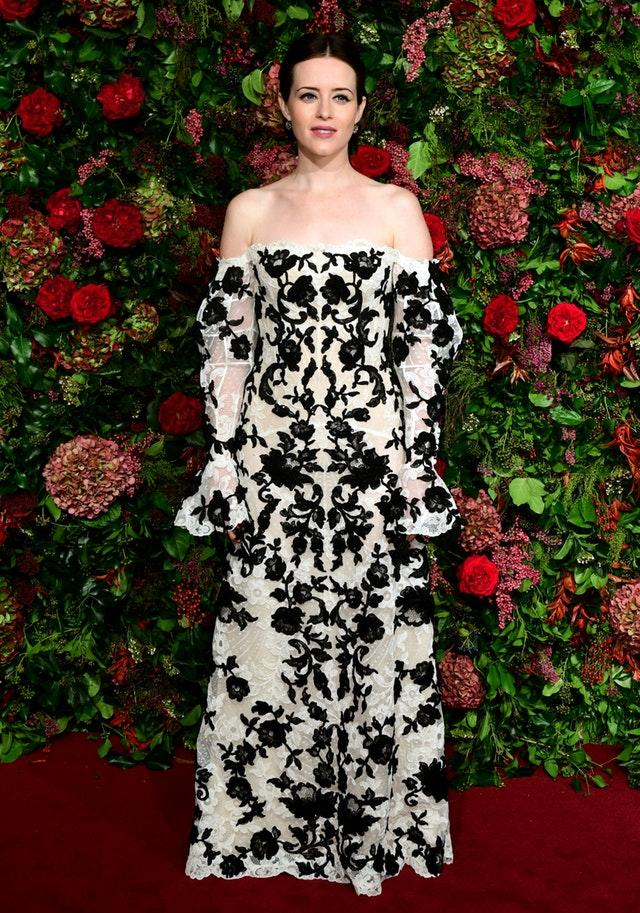 Claire Foy at the Evening Standard Theatre Awards 2018 – London