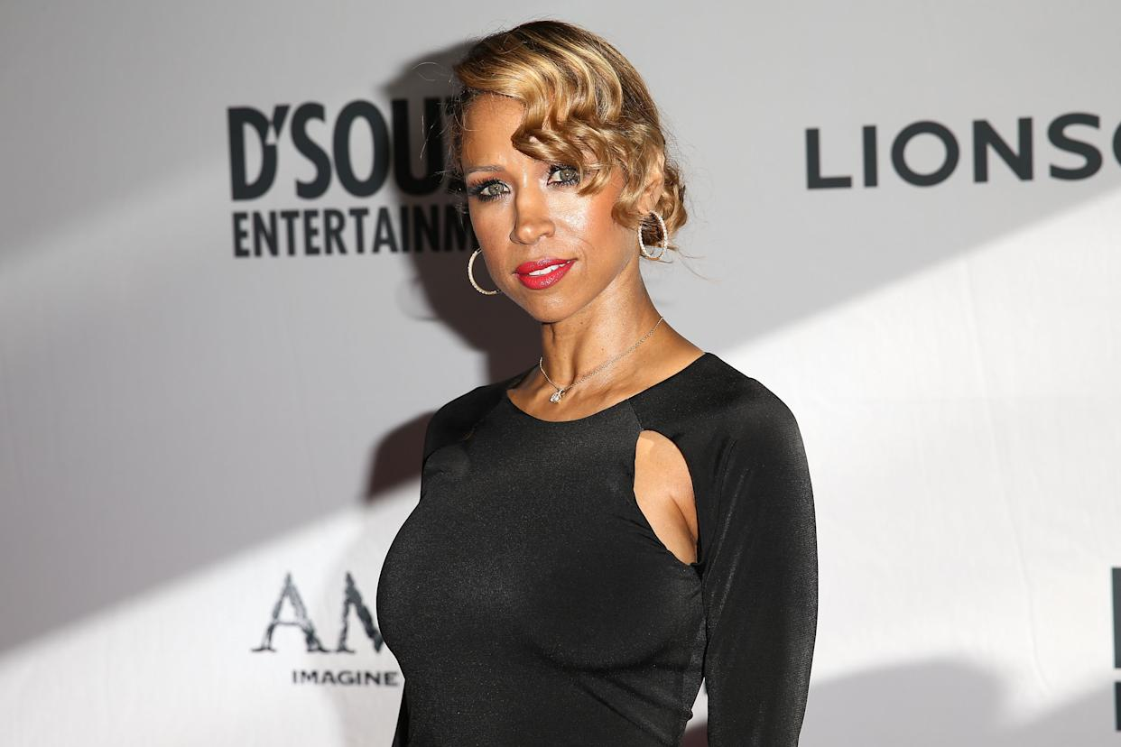 LOS ANGELES, CA - JUNE 30:  Actress Stacey Dash attends the premiere of Lionsgate Films' 'America' at Regal Cinemas L.A. Live on June 30, 2014 in Los Angeles, California.  (Photo by Imeh Akpanudosen/Getty Images)