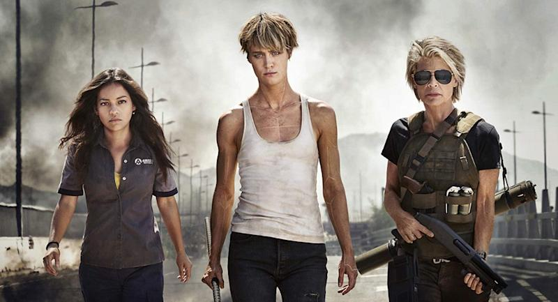 New Footage in the Terminator: Dark Fate Extended Look