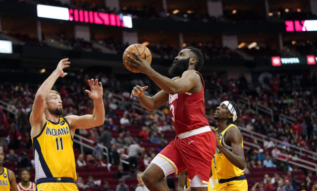 James Harden is on pace to raise his scoring average for the seventh straight year, which is just nuts. (AP Photo/David J. Phillip)