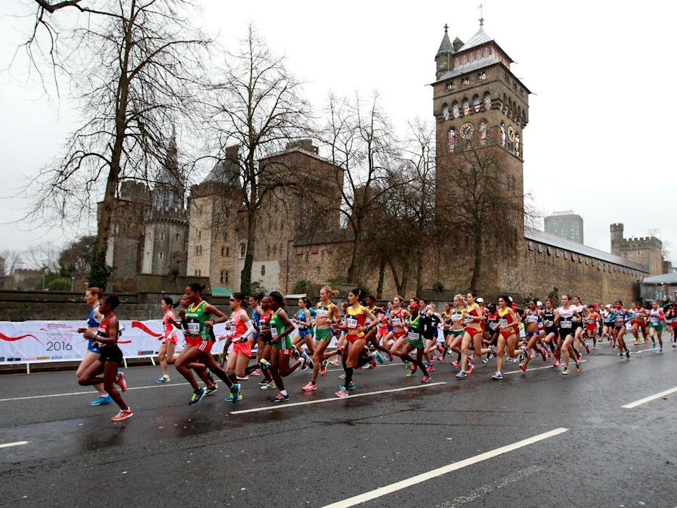 Two men died after completing the Cardiff half marathon (Picture: PA)