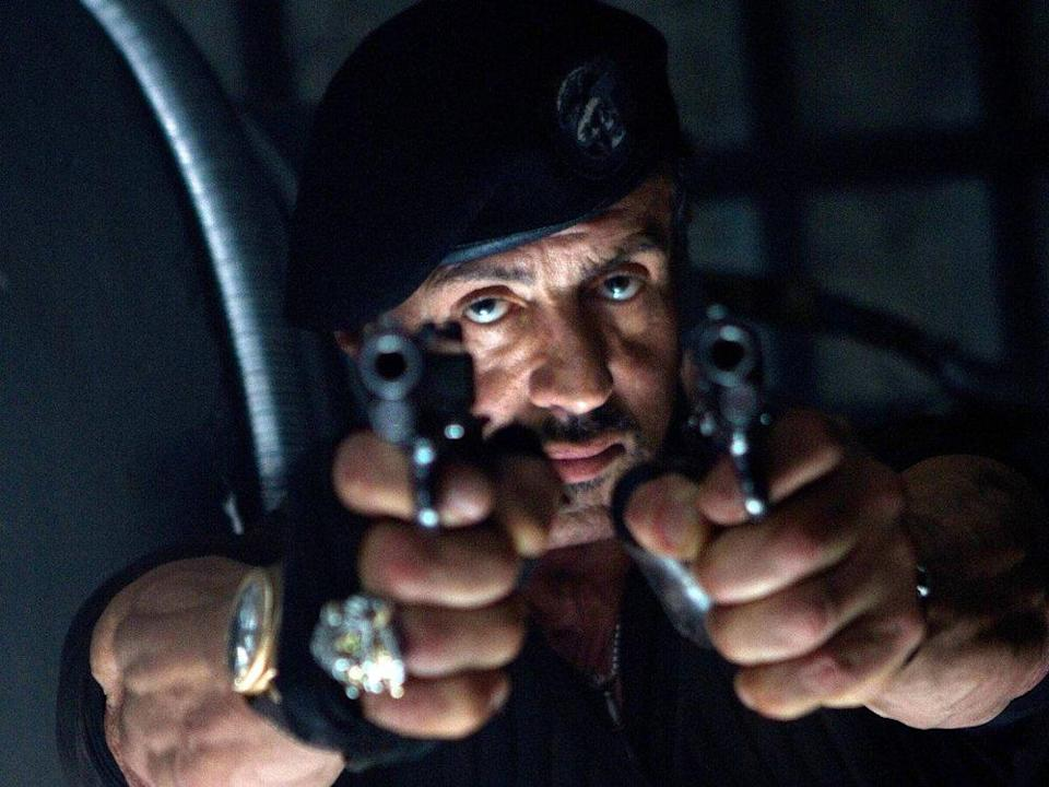 """Sylvester Stallone in """"The Expendables 2"""" (2012). (Bild: imago images/Mary Evans)"""