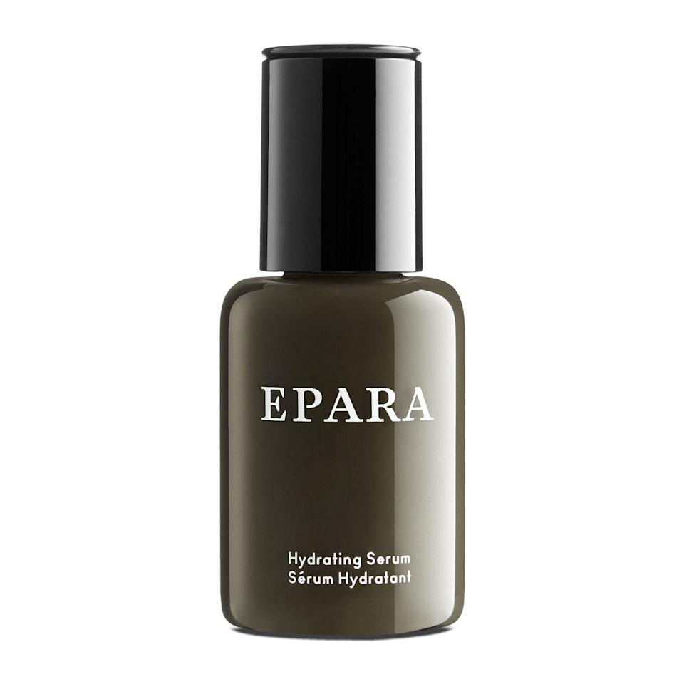 """Luxury skin-care brand Epara makes highly effective formulas that cater specifically to the needs of women of color. Its Cleansing Lotion landed a <a href=""""https://www.allure.com/gallery/best-of-beauty-luxury-beauty-product-winners?mbid=synd_yahoo_rss"""" rel=""""nofollow noopener"""" target=""""_blank"""" data-ylk=""""slk:Best of Beauty Award"""" class=""""link rapid-noclick-resp"""">Best of Beauty Award</a> this year because it's just that good, and its Hydrating Serum (pictured above) is a best seller spiked with soothing ingredients, such as licorice root extract, apricot kernal oil, and cotton thistle flower extract. The brand's products are especially ideal for sensitive skin as they're made without artificial colors and fragrance, as well as fruit acids. $56, Nordstrom. <a href=""""https://www.nordstrom.com/brands/epara--21813"""" rel=""""nofollow noopener"""" target=""""_blank"""" data-ylk=""""slk:Get it now!"""" class=""""link rapid-noclick-resp"""">Get it now!</a>"""