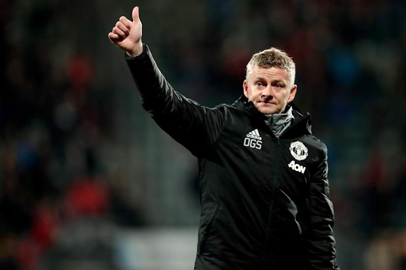 DEN HAAG, NETHERLANDS - OCTOBER 3: coach Ole Gunnar Solskjaer of Manchester United during the UEFA Europa League match between AZ Alkmaar v Manchester United at the Cars Jeans Stadium on October 3, 2019 in Den Haag Netherlands (Photo by Soccrates/Getty Images)