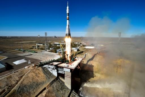 Observers said the astronauts survived the launch failure thanks to the Soviet-era rocket's rescue system