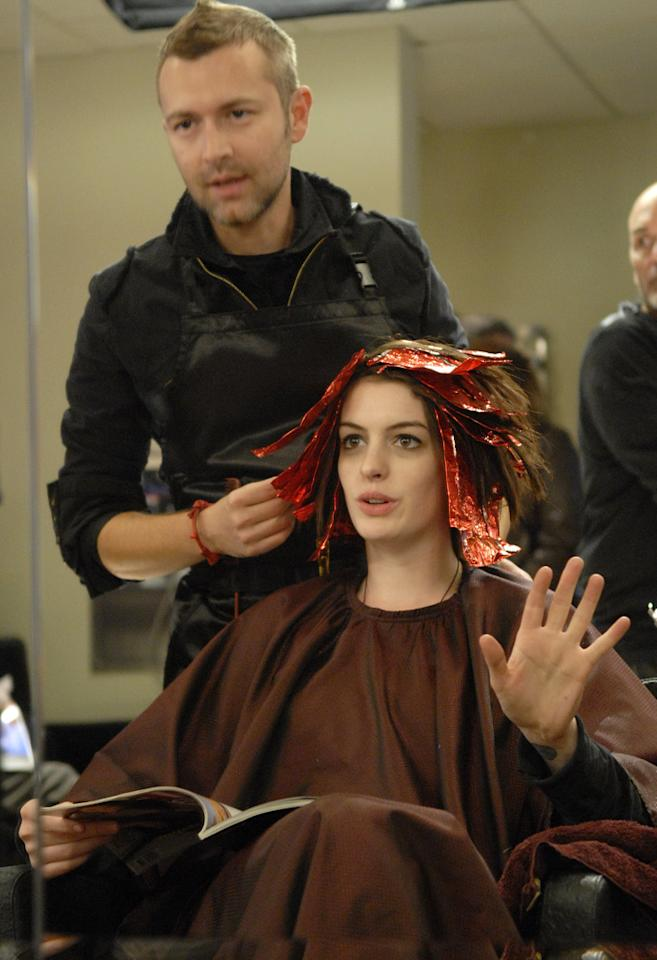 """<a href=""""http://movies.yahoo.com/movie/contributor/1804705919"""">Anne Hathaway</a> in Sony Pictures Classics' <a href=""""http://movies.yahoo.com/movie/1809961213/info"""">Rachel Getting Married</a> - 2008"""