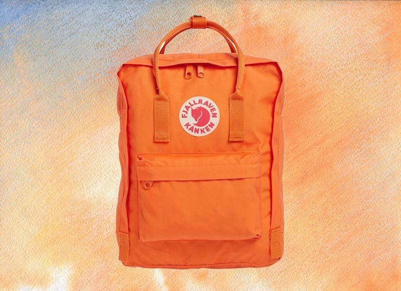 Fjallraven Kanken Water Resistant Backpack. (Photo: Amazon)
