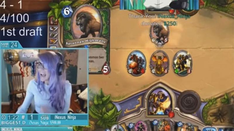 This is a screenshot of the moment troll Anthony Archer PayPal sent $50,000 to Legendary Lea. Photo: YouTube/LiveStreamFails