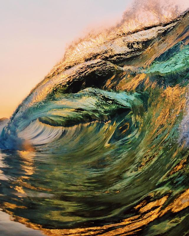 <p>However, as a surf fan, the photographer's overall goal remains the same as it did on Day One: to push the boundaries of what might be possible in wave photography. (Photo: Ryan Pernofski/Caters News) </p>