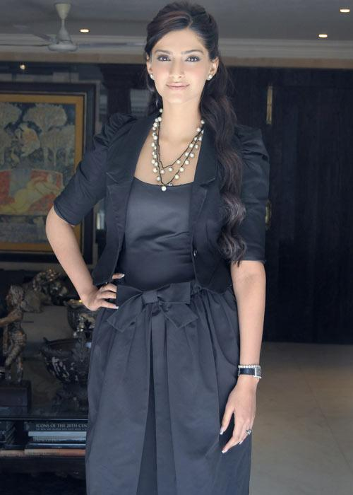"""It is irritating to have family members who are so enviously fit,"" Sonam said, adding jokingly that she was wearing Spandex to look statuesque in her black dress. Still, she has to stay fit and look her best all the time, said a chatty Sonam, because her job demanded it."