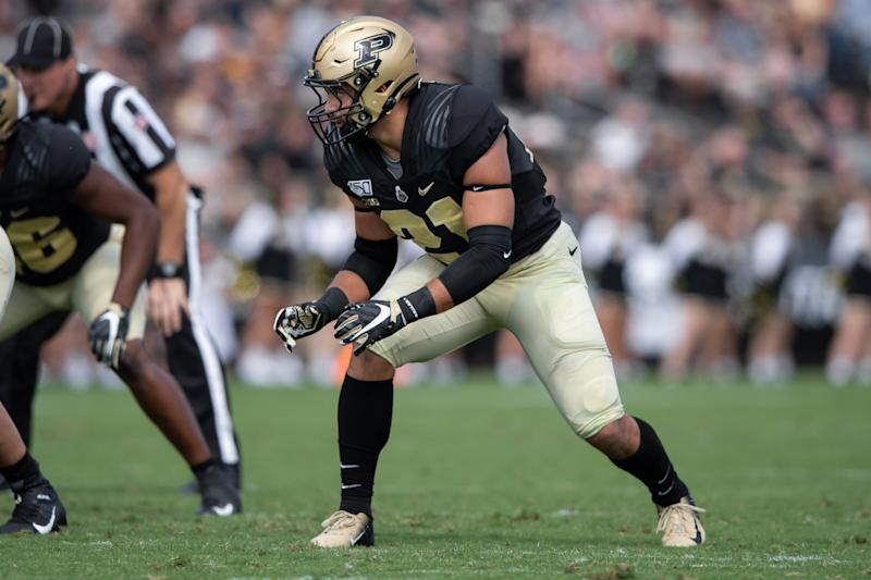Keep an eye on Purdue LB Markus Bailey, who looked great against Vanderbilt. (Getty Images)