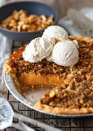 """<p>The walnut topping on this sweet potato pie adds a nice, nutty crunch to every forkful. Of course, a scoop of vanilla ice cream makes it even better.</p><p><strong>Get the recipe at <a href=""""https://www.thecookierookie.com/homemade-sweet-potato-pie-recipe/"""" rel=""""nofollow noopener"""" target=""""_blank"""" data-ylk=""""slk:The Cookie Rookie"""" class=""""link rapid-noclick-resp"""">The Cookie Rookie</a>.</strong> </p>"""