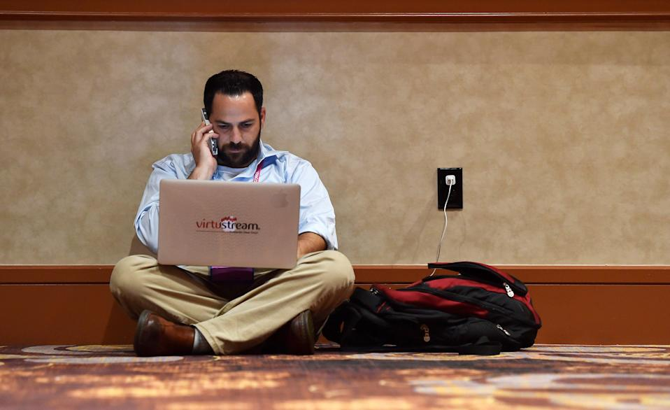 Cyber extortion remains an issue. (Photo: REUTERS/David Becker)
