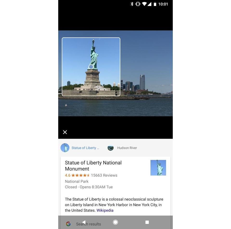Google Lens can analyze images and identify their subjects, as well as pull text from them.
