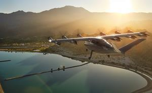 Image of Archer's eVTOL Aircraft, which will launch in Los Angeles by 2024