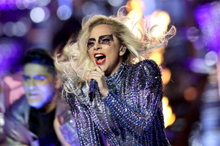 Lady Gaga debuts with a new song at Coachella