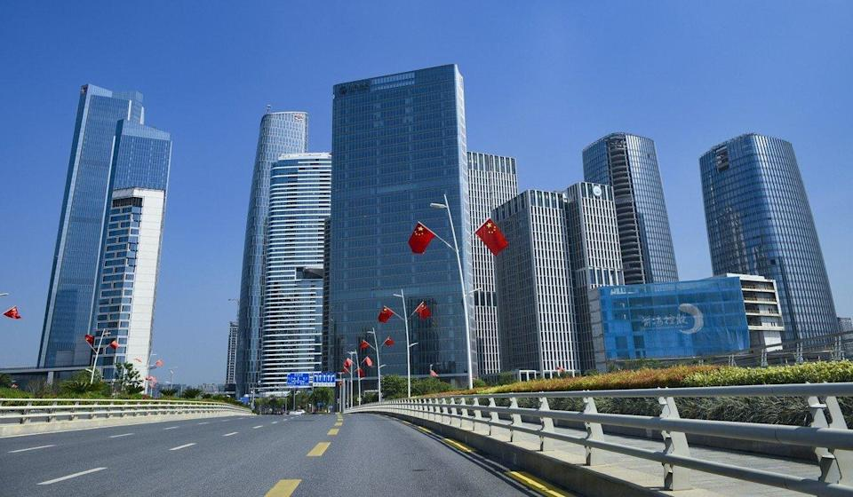 The physical area of Qianhai economic zone in Shenzhen is being expanded seven fold. Photo: VCG via Getty Images
