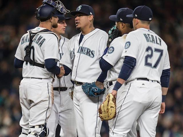 Félix Hernández is no longer the flamethrower he used to be, but he looked like an ace in a dominant Opening Day performance.