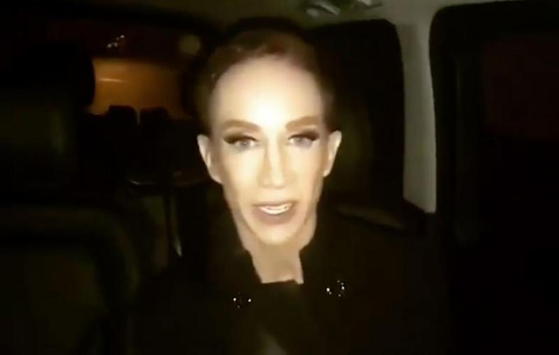 The comedian assured fans she was fine in a video she posted to Twitter. Source: Twitter