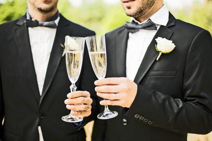 The grooms were shocked to be turned away by the photographer. (Photo: Getty Images)