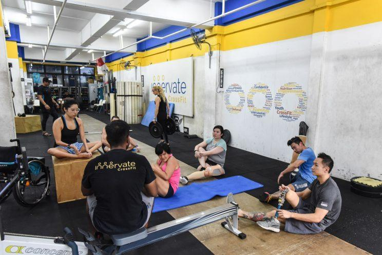 Innervate CrossFit has seen a growing interest in its Adaptive CrossFit classes, which cater to those with disabilities. (PHOTO: Yahoo Newsroom)