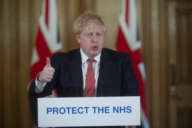 Boris Johnson has delivered his first daily briefing since recovering from coronavirus (Julian Simmonds - WPA Pool/Getty Images)