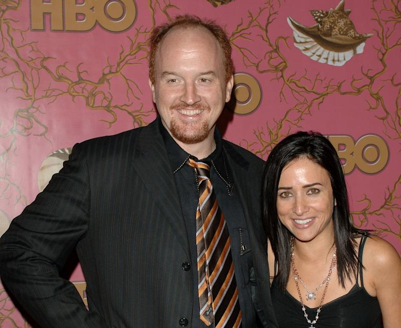 Louis C.K. and actress Pamela Adlon.