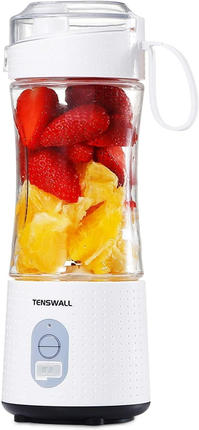 <p>Create yummy smoothies and shakes on the go with this useful <span>Portable Blender For Shakes and Smoothies</span> ($20). It's USB-rechargeable!</p>