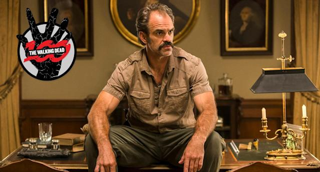 Steven Ogg as Simon on <em>The Walking Dead.</em> (Photo: Gene Page/AMC)