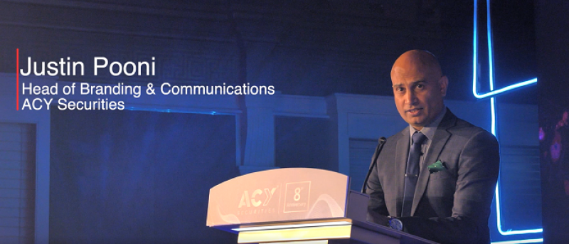 Justin Pooni, Head of Branding & Communications – ACY Securities
