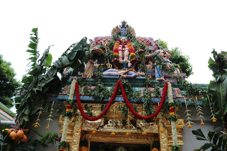 The Sri Veeramakaliamman Temple in Little India is one of Singapore's oldest temples. (PHOTO: Facebook / Sri Veeramakaliamman Temple)