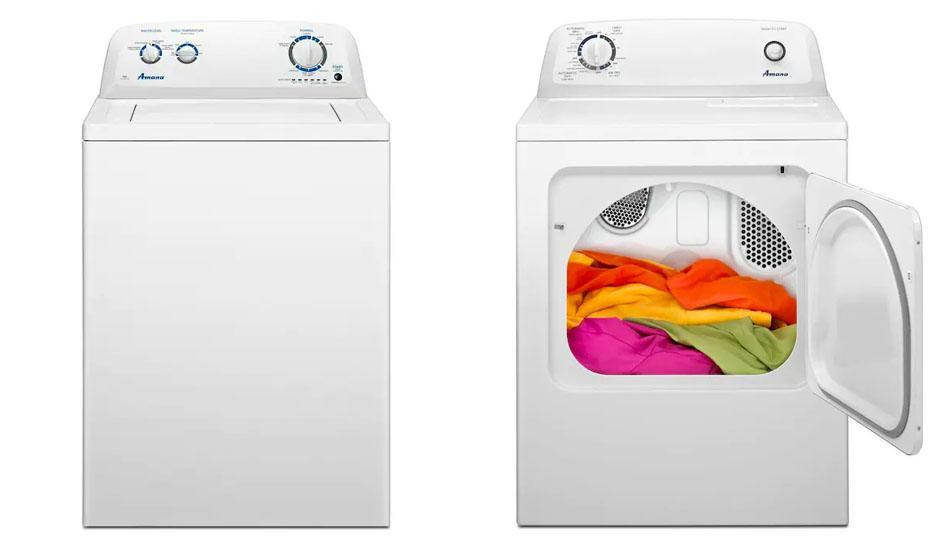 A new set takes the dread out of laundry. (Photo: Lowe's)